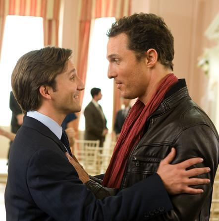 Matthew McConaughey and Breckin Meyer in Ghosts of Girlfriends Past.