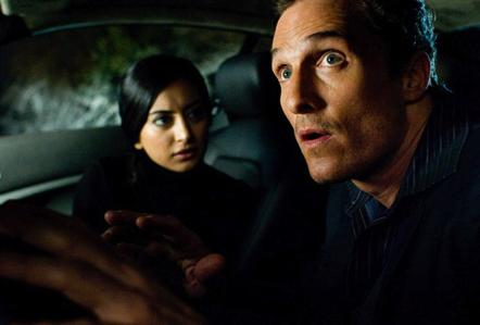 Matthew McConaughey and Noureen DeWulf from Ghosts of Girlfriends Past.