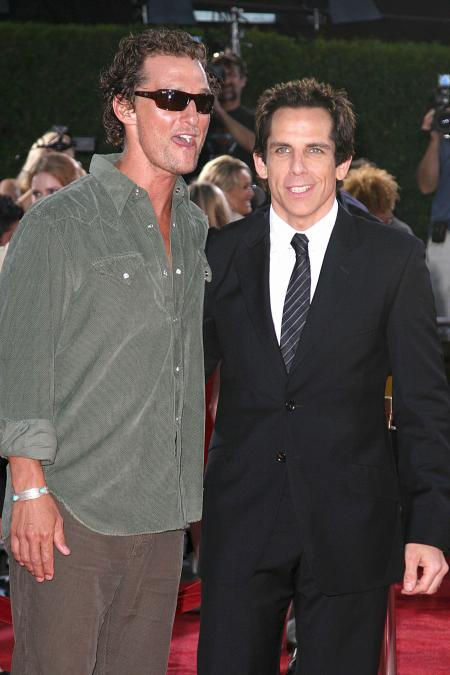Matthew McConaughey at the premiere of Tropic Thunder