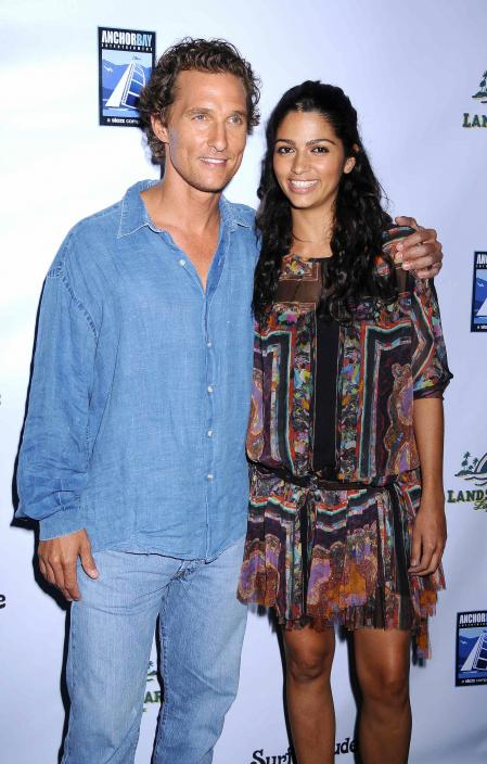 Matthew McConaughey at the Surfer Dude premiere