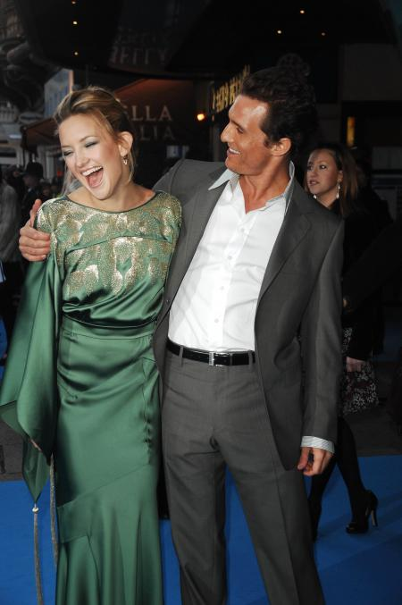 Matthew McConaughey and Kate Hudson at the UK premiere of Fools Gold