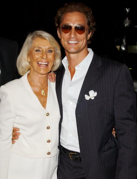 Matthew McConaughey at the premiere of Two for the Money