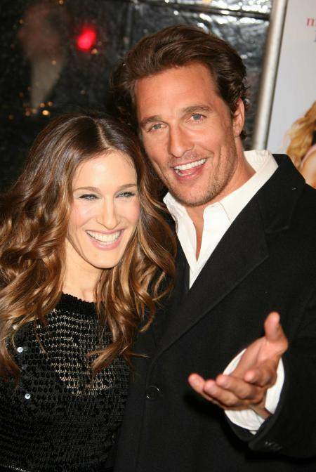 Matthew McConaughey at the premiere of Failure to Launch