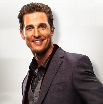 Matthew McConaughey as Connor in Ghosts of Girlfriends Past.