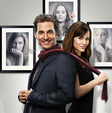 Matthew McConaughey and Jennifer Garner movie poster.