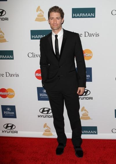 Matthew Morrison at the 2012 Pre-GRAMMY Gala