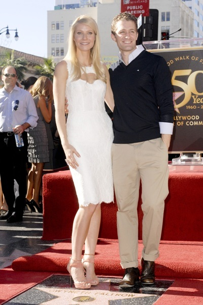 Matthew Morrison  and Gwyneth Paltrow