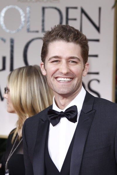 Matthew Morrison at The 69th Annual Golden Globe Awards