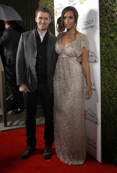 Matthew Morrison and Leona Lewis