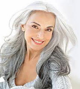 Outstanding Long Hairstyles For Gray Hair Best Hairstyle 2017 Short Hairstyles For Black Women Fulllsitofus