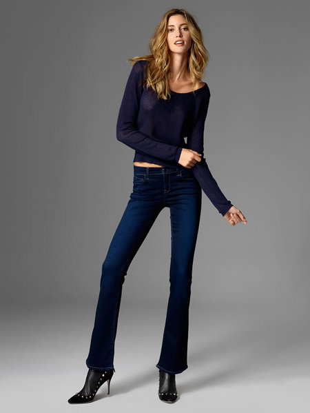 Mavi Molly Mid-Rise Bootcut Jean