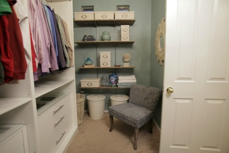 Master Bedroom Closet - Chair