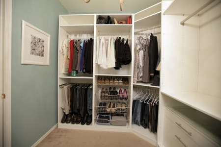 Master Bedroom Closet - Shoes