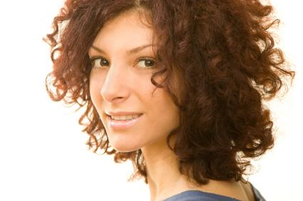 Medium Curly Bob - Medium length hairstyles