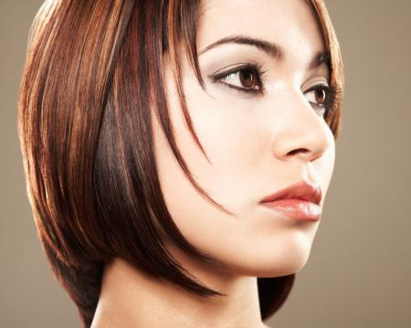 Face Framing Bob - Medium length hairstyles