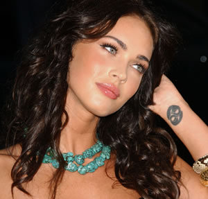 Megan Fox tattoo on wrist