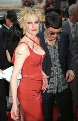 Melanie Griffith: Antonio tattoo