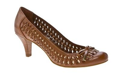 Memories Woven Leather Pump