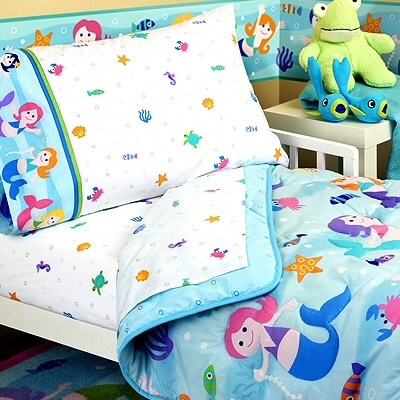 Discount Bedding Sets  Girls on Mermaids Girls Bedding Set   Girls  Bedroom Ideas