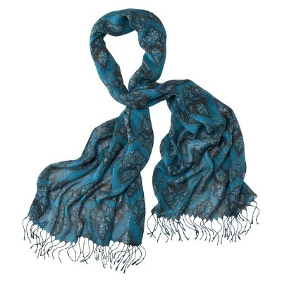 Bamboo print scarf