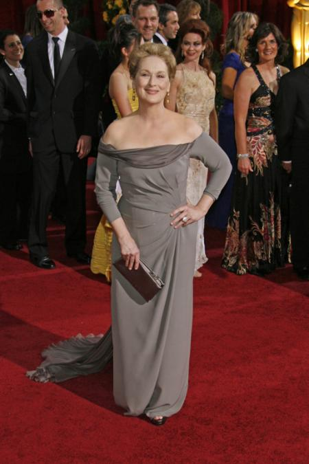 Meryl Streep wearing Alberta Ferretti