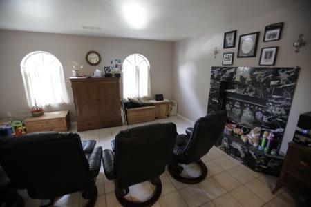 Kinkle Media Room: Before