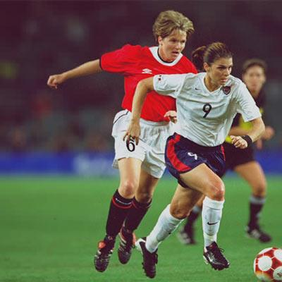 Mia Hamm Against Norway