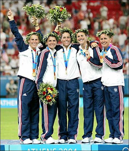 Olive branch wreaths at the Olympics