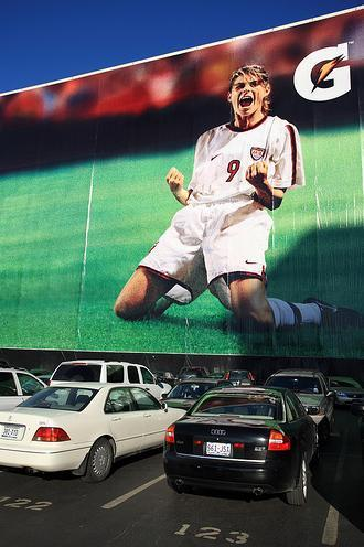 Mia Hamm for Gatorade