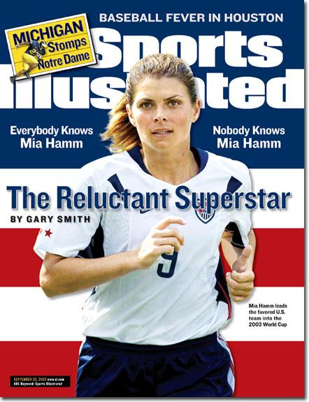 Mia Hamm in Sports Illustrated