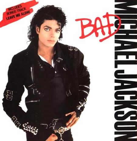 Pictures Celebrity on Jackson S Bad Album Cover   Michael Jackson S Most Famous Albums