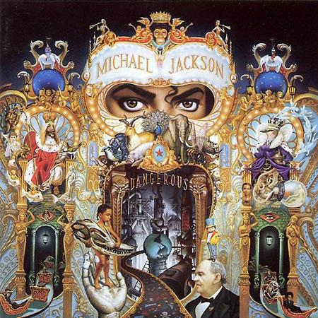 Michael Jackson&#039;s Dangerous cover