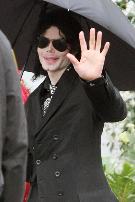 Michael Jackson's last public photo