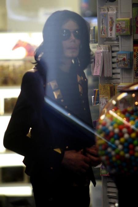Michael Jackson shops