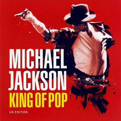 Michael Jackson's King of Pop UK cover