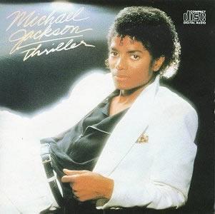 Micahel Jackson's Thriller album cover
