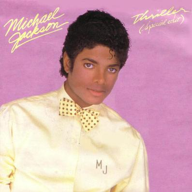 Michael Jackson's Thriller special edition cover