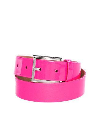 Michael kors neon pink belt