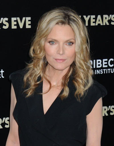 Michelle Pfeiffer with long curls