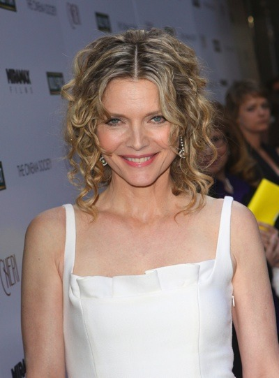 Michelle Pfeiffer in curls