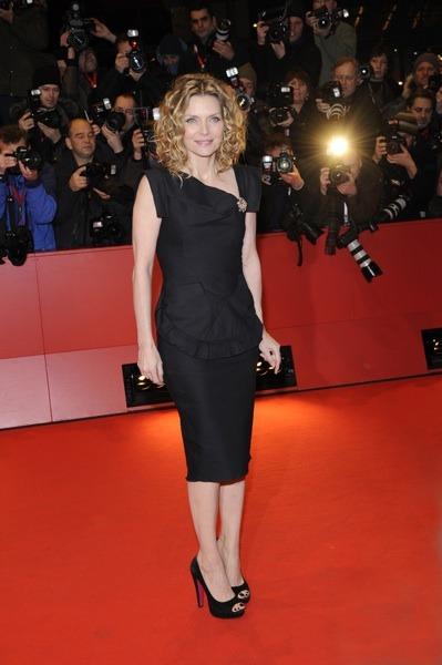Michelle Pfeiffer in platform stilettos