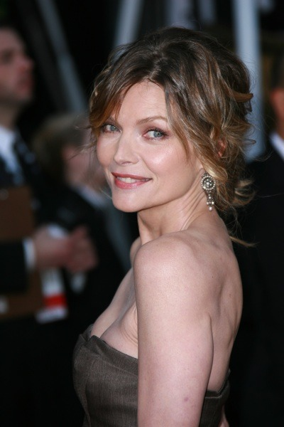 Michelle Pfeiffer as a brunette