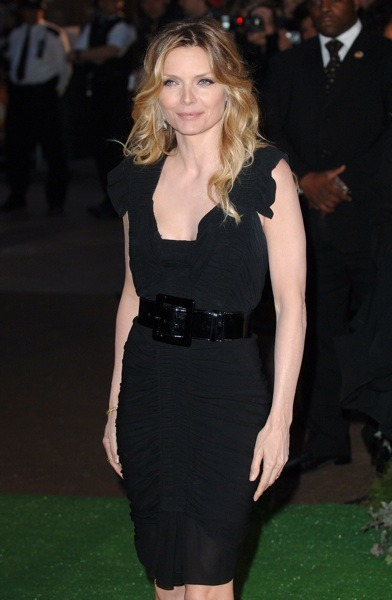 Michelle Pfeiffer in LBD with belt