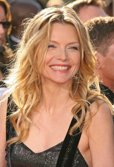 Michelle Pfeiffer smiles