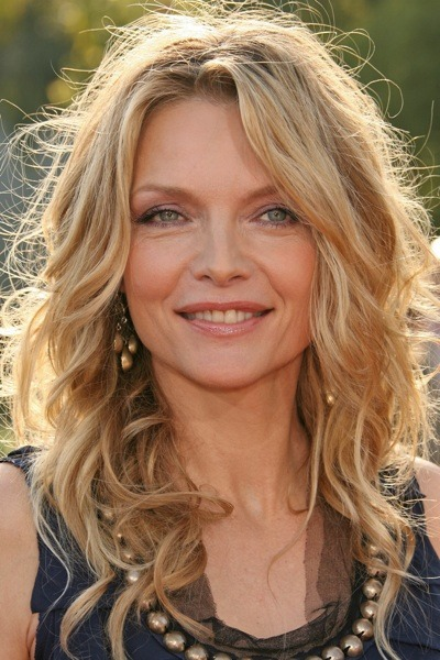 Michelle Pfeiffer with beaded neckline