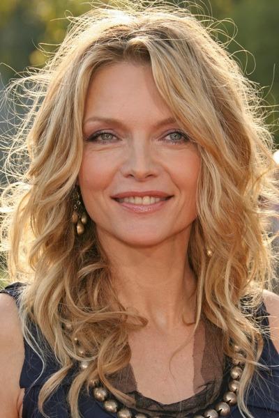 Michelle Pfeiffer with beaded neckline