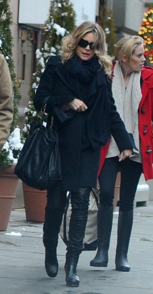 Michelle Pfeiffer in black sweater