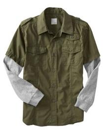 2-in-1 Pilot Shirt