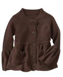 Knit Baby Doll Sweater