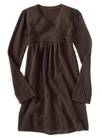 Pointelle Knit Wrap Dress